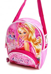 tas 2 in 1 barbie pink