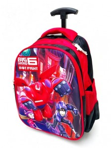 tas big hero merah trolly impor tk rz