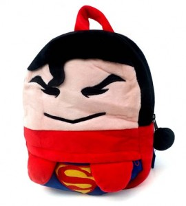 tas boneka superman muka