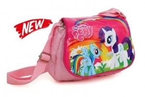 tas selempang little pony pink