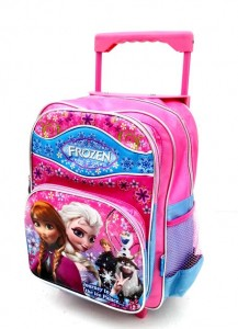 tas trolley frozen pink