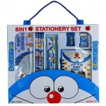 pensil set 8 in 1 doraemon