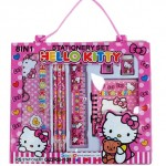 pensil set 8 in 1 hello kitty