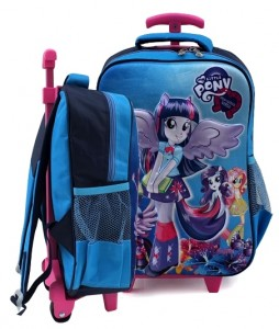 tas ransel trolly 3d little pony biru sd rz