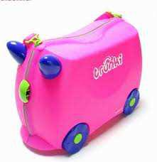 trunki pink Travel Bag lucu   Trunki