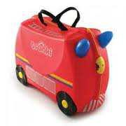 trunki red Travel Bag lucu   Trunki