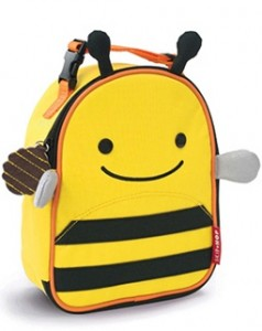 Lunch bag skiphop bee