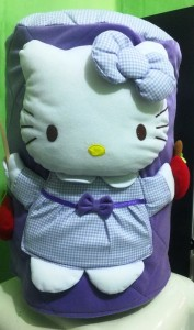 galon hello kitty ungu