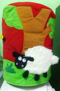 galon 3 dimensi shaun the sheep