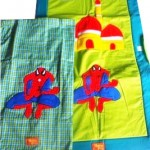 sarung spiderman hijau