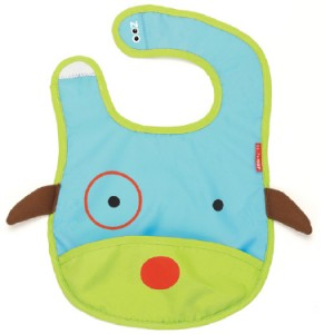 skiphop baby bib dog