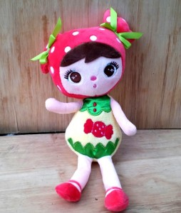 boneka angela strawberry rz