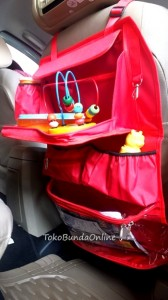 Rak mobil dengan Meja Merah COT (car organizer Table) Red WM resize