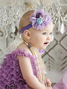 bandana flower purple tb 06 225x300 Cute Headband   Bandana anak Lucu
