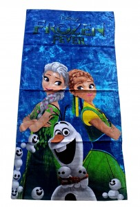 handuk frozen fever olaf kids