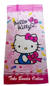 handuk hello kitty