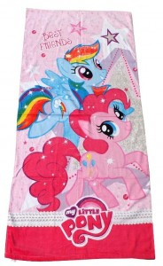 handuk little pony pink