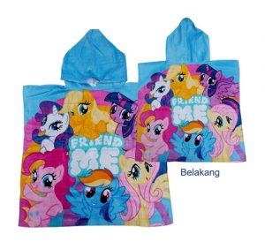 handuk ponco littel pony