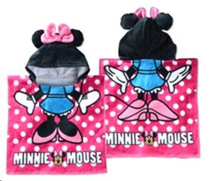 handuk-ponco-minnie-mouse