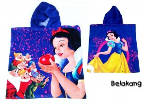Handuk Ponco Snow White