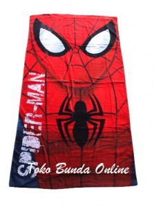 handuk spiderman merah rz