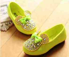 minnie blink shoes Green size 2122232425.  Sepatu PreWalker  Lucu