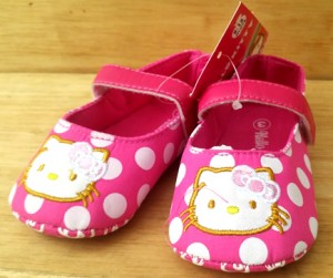 prewalker hello Kitty polkadot