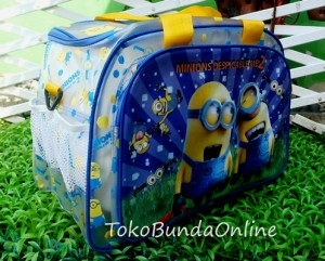 tas travel trasparan minion WMy 300x241 Travel Bag Tenteng Selempang Mini