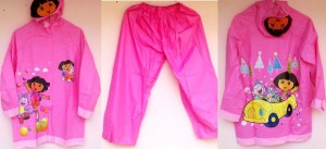 JAS HUJAN DORA THE EXPLORER CELANA PINK copy