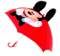 payung mickey mouse