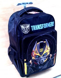 tas trolly transformer hitam original trolly 2