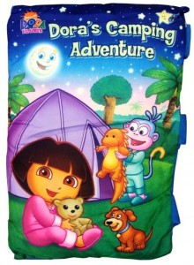 bantal Buku Dora The Explorer