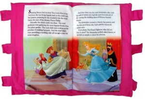 bantal Buku  Princess Book