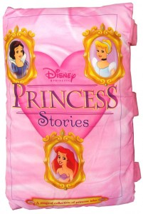 bantal buku Princess Stories