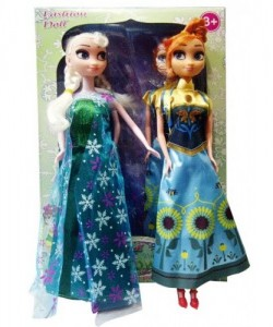 boneka barbie frozen fever anna elsa