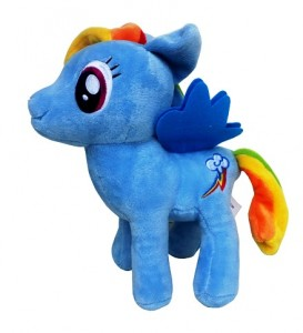 boneka little pony biru