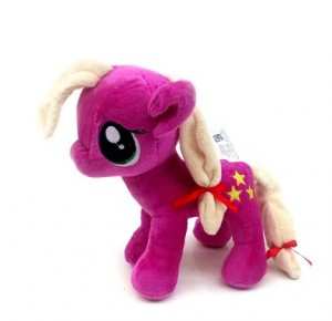 boneka little pony ungu