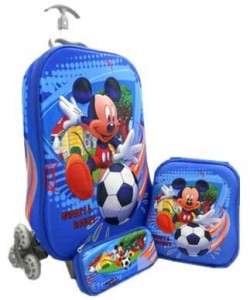 tas trolly roda 6 mickey mouse