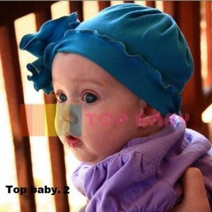 Top Baby Cute Hat Biru