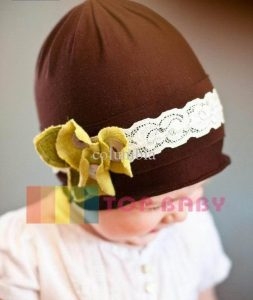 top baby cute hat coklat