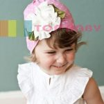 Top Baby Cute Hat Pink Polkadot
