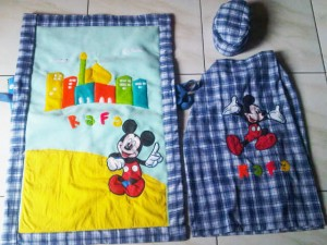 Sarung set Mickey Rafa
