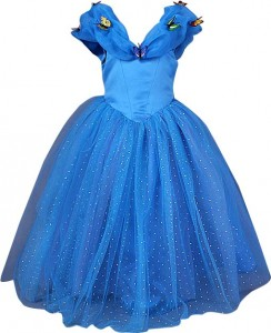 dress cinderella butterfly