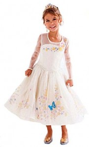 dress cinderella cream