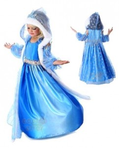 dress fantasia frozen elsa