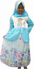 dress frozen muslimah
