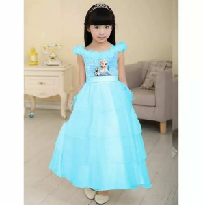 dress frozen elsa tutu