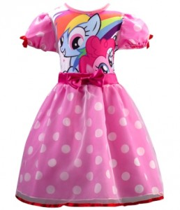 dress little pony polkadot