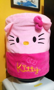 galon boneka hello kitty 181x300 Tutup Galon 3 Dimensi