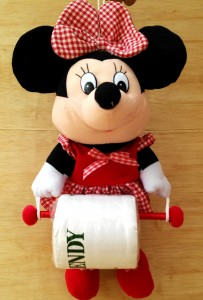 gantungan tissue minnie mouse